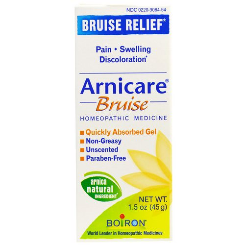 Boiron, Arnicare, Bruise Relief, Unscented, 1.5 oz (45 g) Review