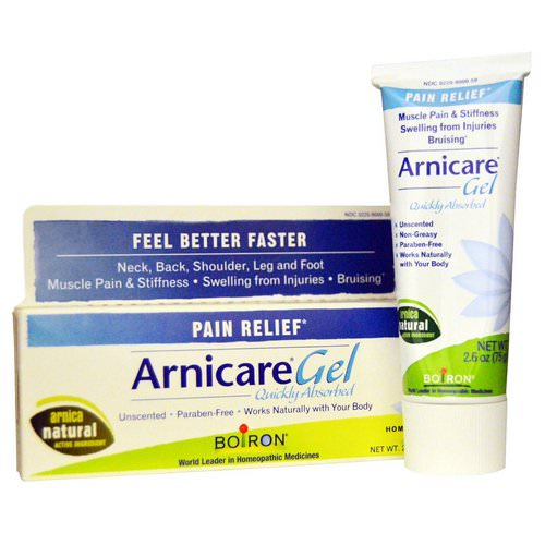 Boiron, Arnicare Gel, Pain Relief, Unscented, 2.6 oz (75 g) Review