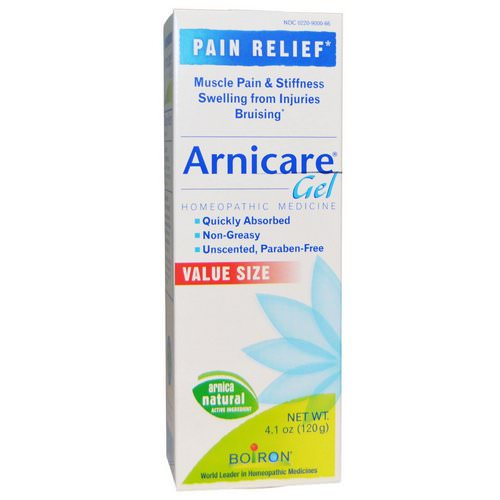 Boiron, Arnicare Gel, Pain Relief, Unscented, 4.1 oz (120 g) Review