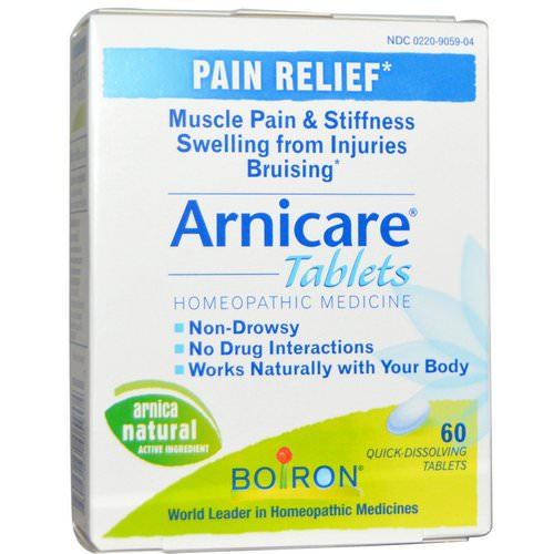 Boiron, Arnicare, Pain Relief, 60 Quick-Dissolving Tablets Review