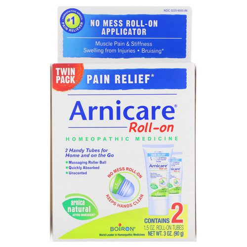 Boiron, Arnicare Roll-on, Pain Relief, 2 Tubes, 1.5 oz Each Review