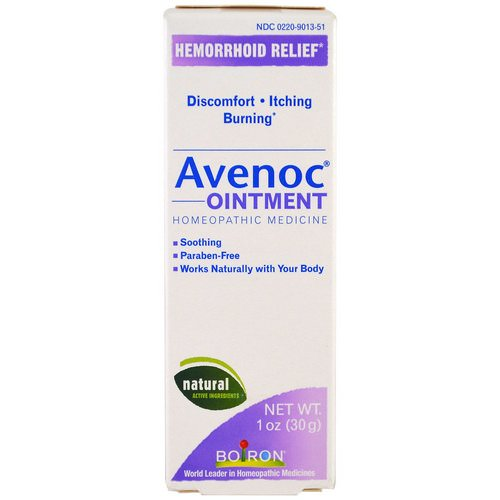 Boiron, Avenoc Ointment, 1 oz (30 g) Review
