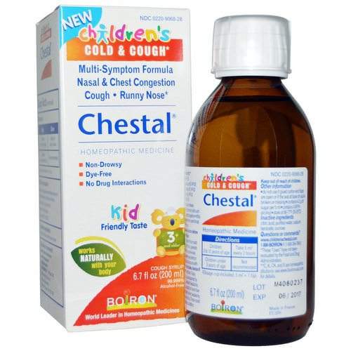 Boiron, Chestal, Children's Cold & Cough, 6.7 fl oz (200 ml) Review
