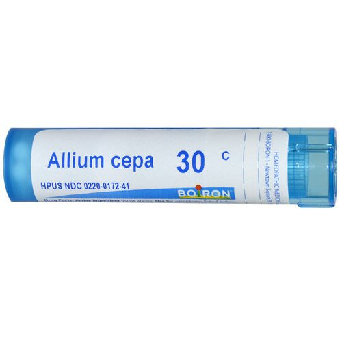 Boiron, Single Remedies, Allium Cepa, 30C, Approx 80 Pellets Review
