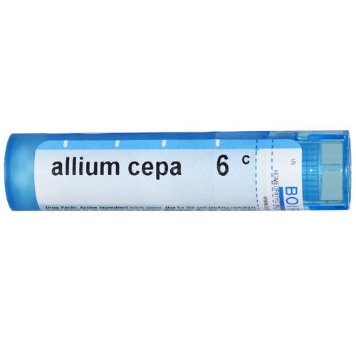 Boiron, Single Remedies, Allium Cepa, 6C, Approx 80 Pellets Review