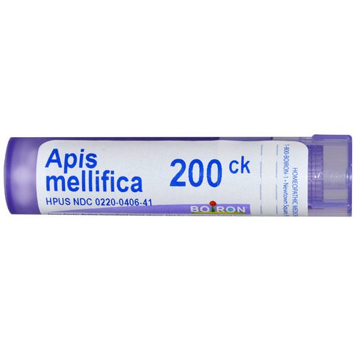Boiron, Single Remedies, Apis Mellifica, 200CK, Approx 80 Pellets Review