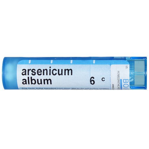 Boiron, Single Remedies, Arsenicum Album, 6C, 80 Pellets Review
