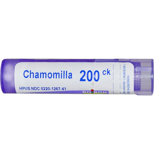 Boiron, Single Remedies, Chamomilla, 200CK, Approx 80 Pellets Review