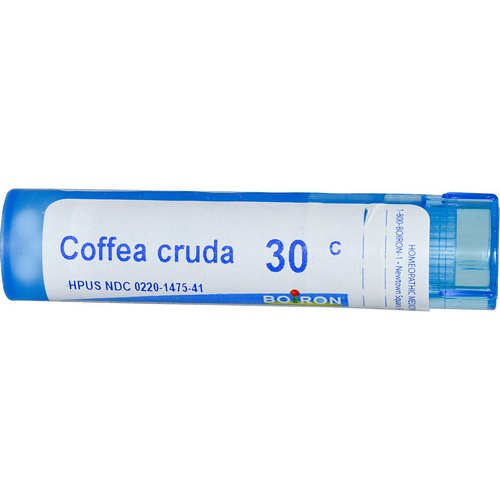 Boiron, Single Remedies, Coffea Cruda, 30C, Approx 80 Pellets Review