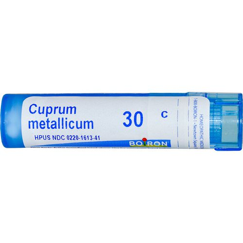 Boiron, Single Remedies, Cuprum Metallicum, 30C, 80 Pellets Review