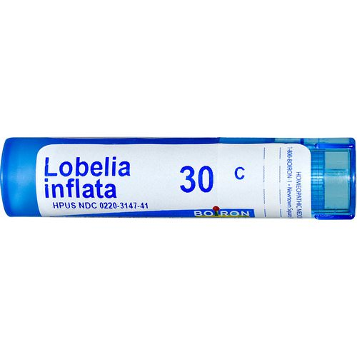 Boiron, Single Remedies, Lobelia Inflata, 30C, Approx 80 Pellets Review