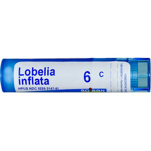 Boiron, Single Remedies, Lobelia Inflata, 6C, Approx 80 Pellets Review