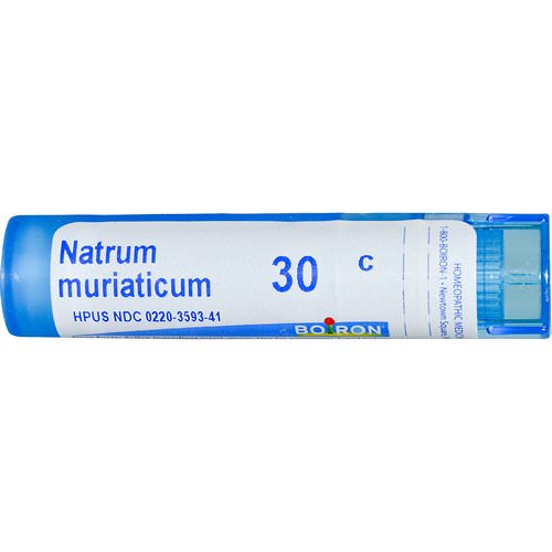 Boiron, Single Remedies, Natrum Muriaticum, 30C, Approx 80 Pellets Review