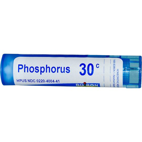 Boiron, Single Remedies, Phosphorus, 30C, Approx 80 Pellets Review