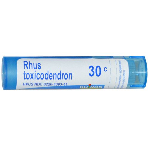 Boiron, Single Remedies, Rhus Toxicodendron, 30C, 80 Pellets Review
