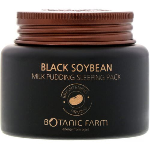 Botanic Farm, Black Soybean Milk Pudding Sleeping Pack, 90 ml Review