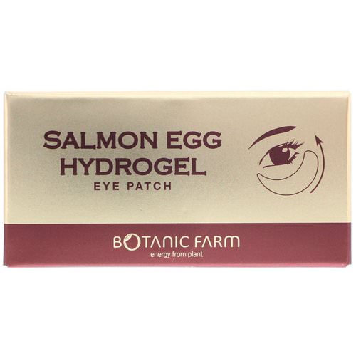 Botanic Farm, Salmon Egg Hydrogel Eye Patch, 90 g Review