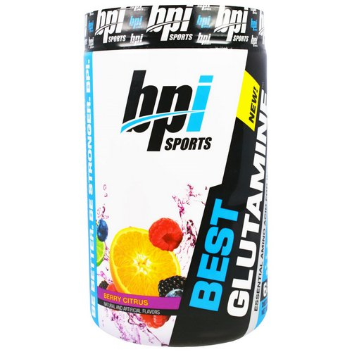BPI Sports, Best Glutamine, Berry Citrus, 14.1 oz (400 g) Review