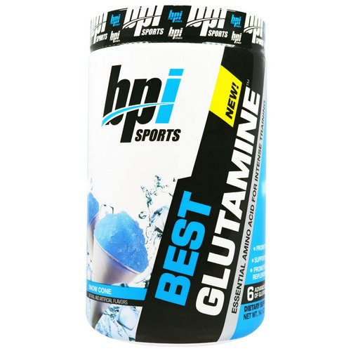 BPI Sports, Best Glutamine, Snow Cone, 14.1 oz (400 g) Review