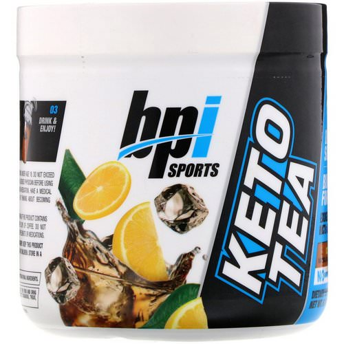 BPI Sports, Keto Tea, Iced Tea, 6.17 oz (175 g) Review