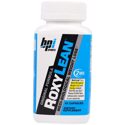 BPI Sports, RoxyLean, Medi-Biological Weight Loss, 60 Capsules Review
