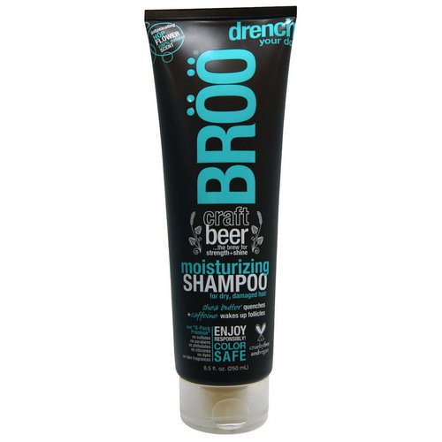BRoo, Moisturizing Shampoo, Hop Flower, 8.5 fl oz (250 ml) Review