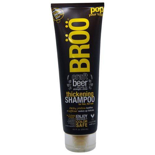 BRoo, Thickening Shampoo, Citrus Creme, 8.5 fl oz (250 ml) Review