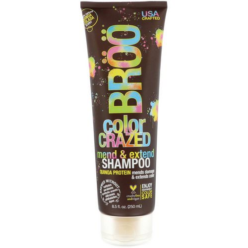 BRoo, Color Crazed Shampoo, Quinoa Colada, 8.5 fl oz (250 ml) Review
