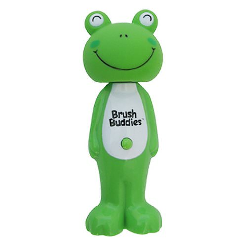 Brush Buddies, Poppin', Leapin' Louie Frog, Soft, 1 Toothbrush Review