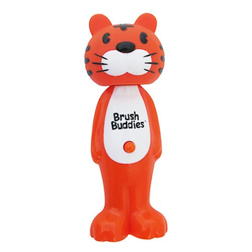 Brush Buddies, Poppin', Toothy Toby Tiger, Soft, 1 Toothbrush Review
