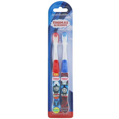 Brush Buddies, Thomas & Friends Toothbrush, 2 Pack Review
