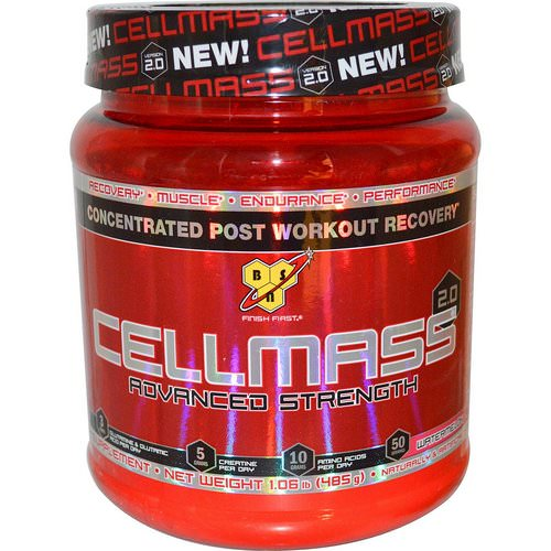 BSN, Cellmass 2.0, Concentrated Post Workout Recovery, Watermelon, 1.06 lbs (485 g) Review