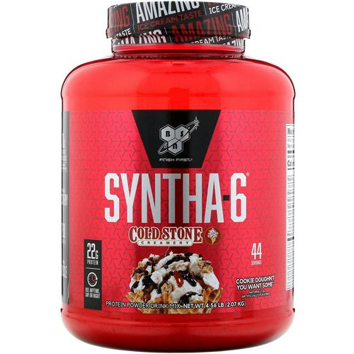 BSN, Syntha-6, Cold Stone Creamery, Cookie Doughn't You Want Some, 4.56 lb (2.07 kg) Review