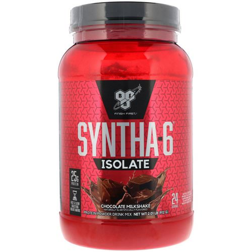 BSN, Syntha-6 Isolate, Protein Powder Drink Mix, Chocolate Milkshake, 2.01 lb (912 g) Review