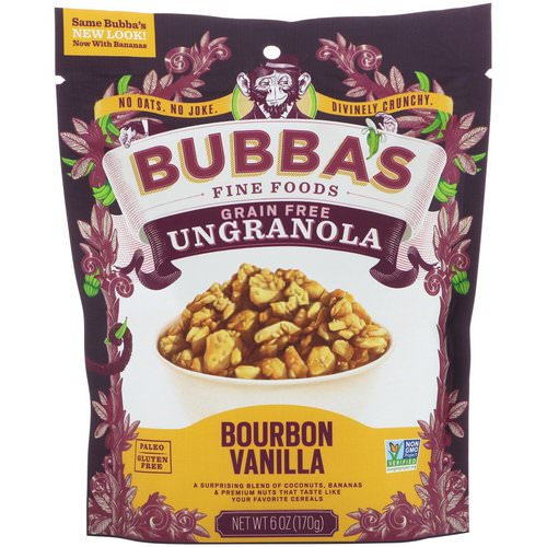 Bubba's Fine Foods, UnGranola, Bourbon Vanilla, 6 oz (170 g) Review