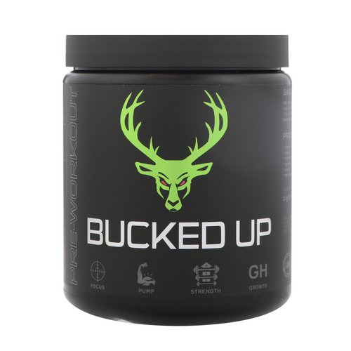 Bucked Up, Pre-Workout, Watermelon, 0.69 lbs (312 g) Review