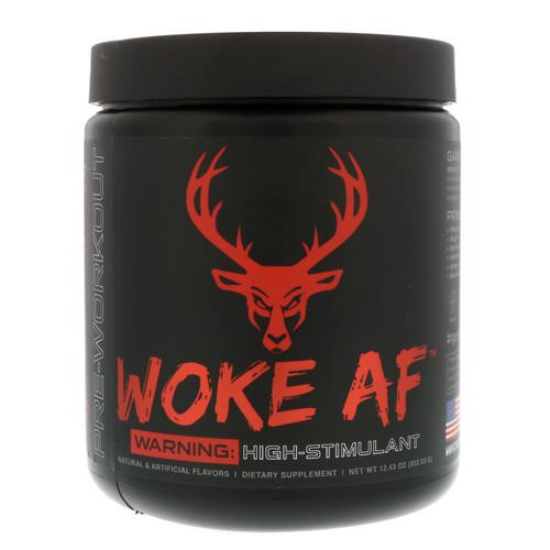 Bucked Up, Woke AF, Pre-Workout, Blood Raz, 12.43 oz (352.53 g) Review
