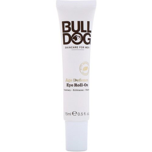 Bulldog Skincare For Men, Age Defence Eye Roll-On, 0.5 fl oz (15 ml) Review