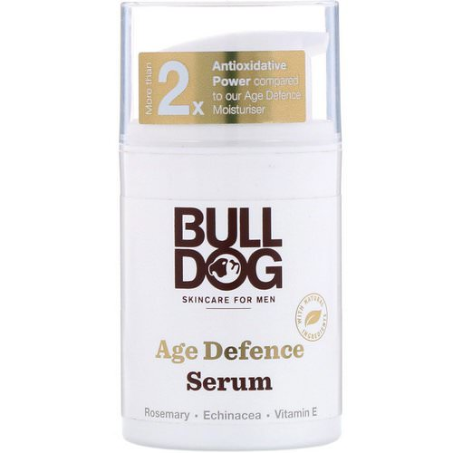 Bulldog Skincare For Men, Age Defence Serum, 1.6 fl oz (50 ml) Review