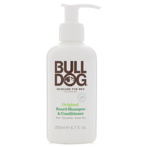 Bulldog Skincare For Men, Original Beard Shampoo & Conditioner, 6.7 fl oz (200 ml) Review