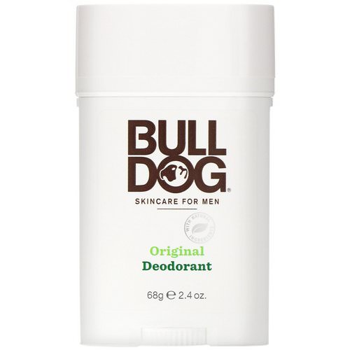 Bulldog Skincare For Men, Original Deodorant, 2.4 oz (68 g) Review