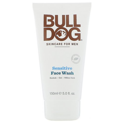 Bulldog Skincare For Men, Sensitive Face Wash, 5 fl oz (150 ml) Review