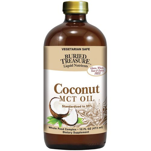 Buried Treasure, Liquid Nutrients, Coconut Oil, 16 fl oz (473 ml) Review