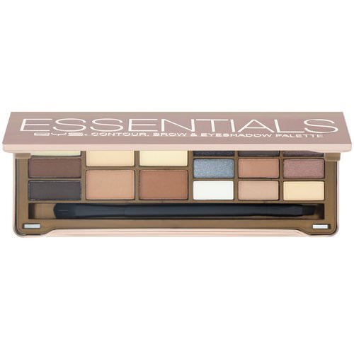 BYS, Essentials, Contour, Brow & Eyeshadow Palette, 15 g Review