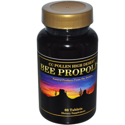 C.C. Pollen, High Desert Bee Propolis, 60 Tablets Review