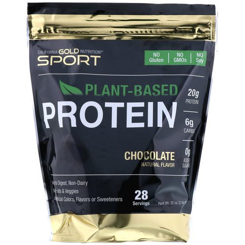 California Gold Nutrition, Chocolate Plant-Based Protein, Vegan, Easy to Digest, 2 lb (907 g) Review