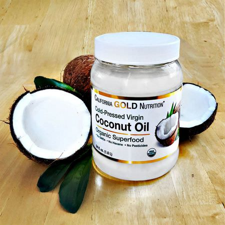 California Gold Nutrition CGN, Coconut Oil, Greens, Superfoods