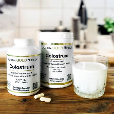 California Gold Nutrition CGN, Colostrum