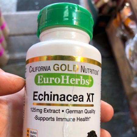 Herbs Homeopathy Echinacea Supplements California Gold Nutrition CGN