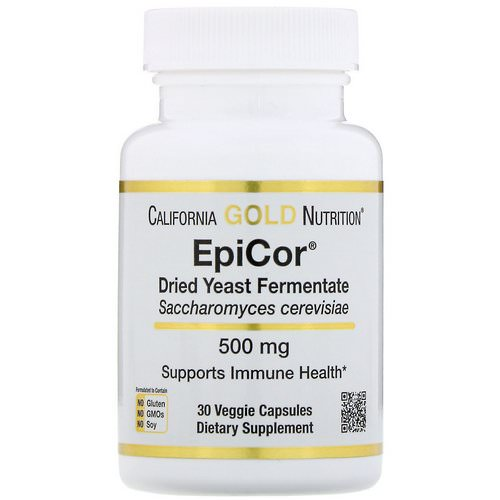 California Gold Nutrition, EpiCor, Dried Yeast Fermentate, 500 mg, 30 Veggie Capsules Review